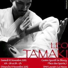 Léo Tamaki à Louvain-la-Neuve, 10 et 11 novembre; Liège, 9 novembre