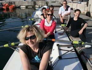 L'aviron au secours des victimes d'un cancer du sein