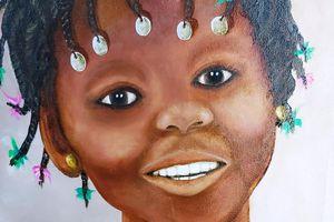 Jeune Adolescente Africaine