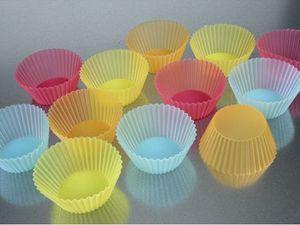 moules en silicone - plaque muffins+moules papier