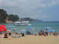 Les plages de Lloret et Fouad au footing