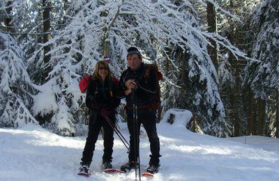 Raquettes à neige : Autrans-Le Claret