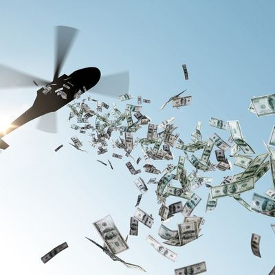 Helicopter money: