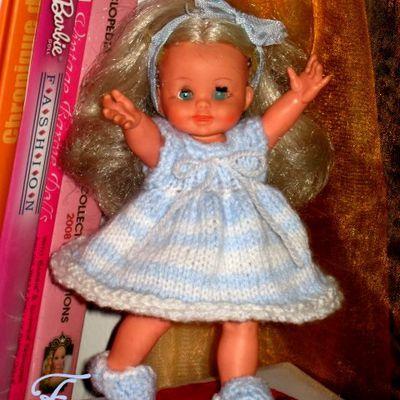 Lisa de Furga & sa petite tenue