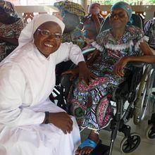 """Les 2 maisons de retraite des """"Petites Soeurs Des Pauvres"""" à Abomey-Calavi et à Porto Novo"""