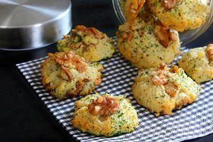 Cookies Salés Gorgonzola Noix 2.0