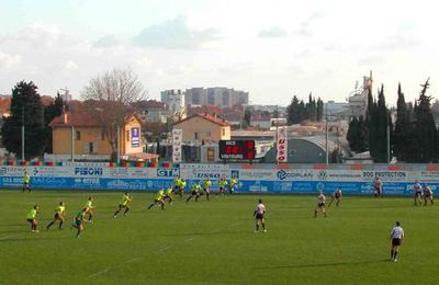Rugby : Nice - Romans