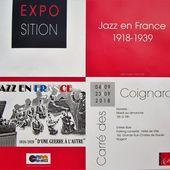 JAZZ EN FRANCE, 1918-1939, une exposition à Nogent-sur-Marne