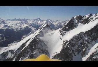 En montagne avec le Tétras.