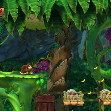 Donkey Kong Country Tropical Freeze : des décors bluffants !