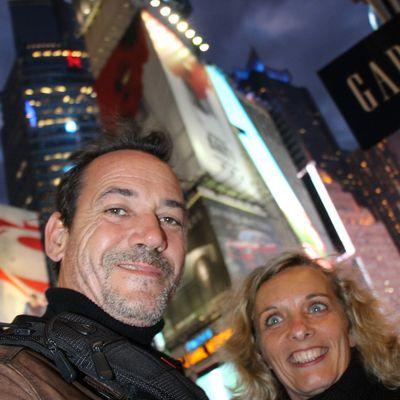 Un jour j'irai a New York avec toi...