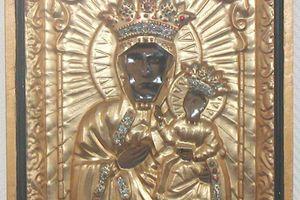 la Vierge Noire de Czestochowa Eglise gallicane de Reims