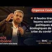 """""""Il y a eu des erreurs politiques dans la gestion de la crise du covid-19"""" - Alexis Corbière sur RMC"""
