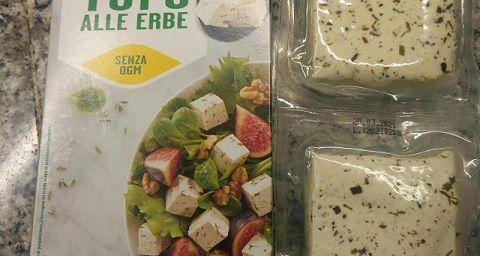 """Tofu alle erbe """"Sojasun"""" - Prova assaggio"""