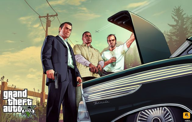GTA V : Michael, Franklin & Trevor