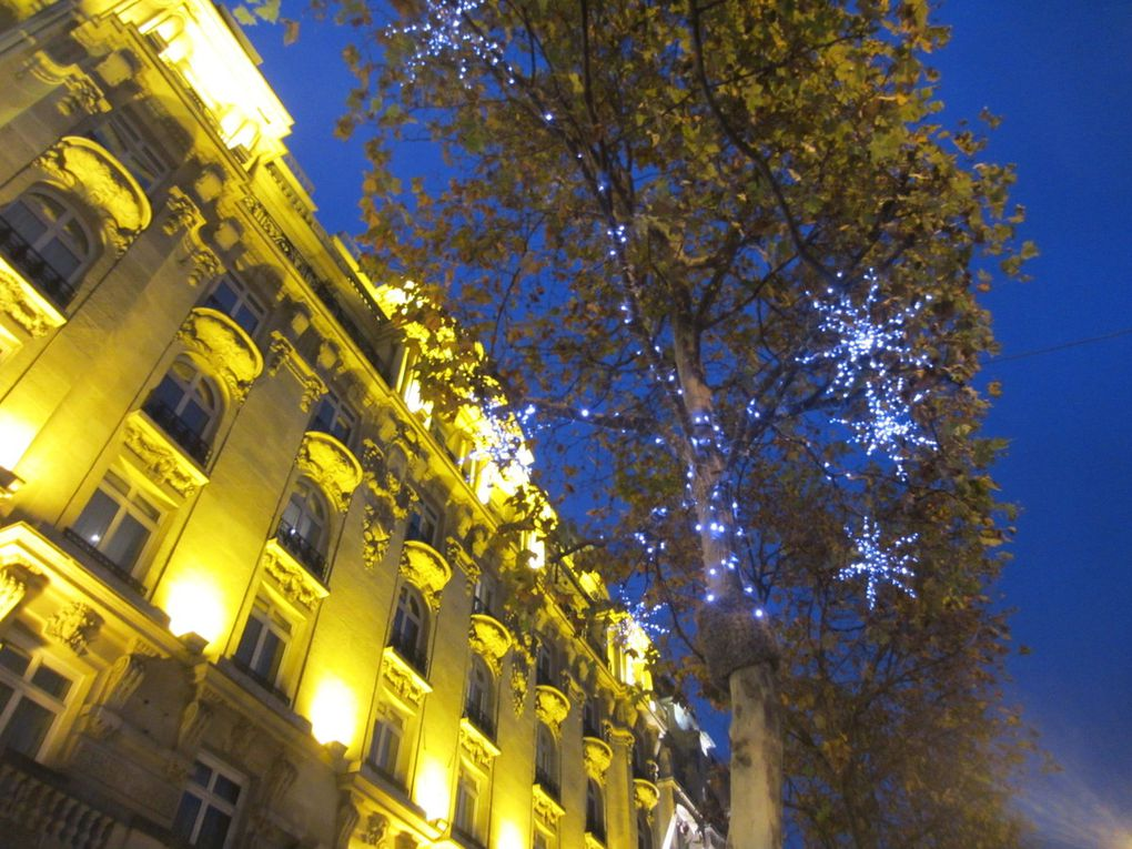 Illuminations Champs Elysées Paris 2016