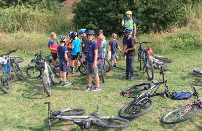 Ferienprogramm - Teil 2 - der U.W.G Veitshöchheim mit dem Mountainbike