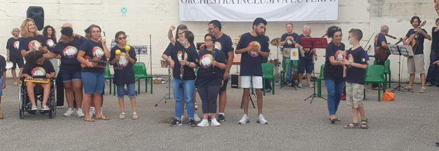 Orchestra giovani speciali. Volontari AVOladispoli tra il pubblico