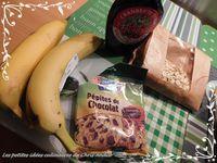 Cookies healthy banane et chocolat