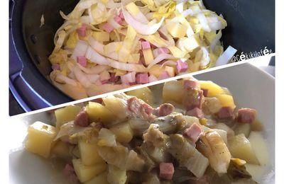 Endives pomme de terre cancoillotte (Cookeo)