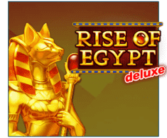 machine a sous Rise of Egypt Deluxe logiciel Playson