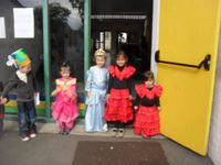 Fête des fleurs à l'école maternelle Polignac