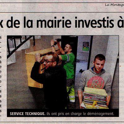 La Mairie de Maurs retrouve ses locaux flambant neuf