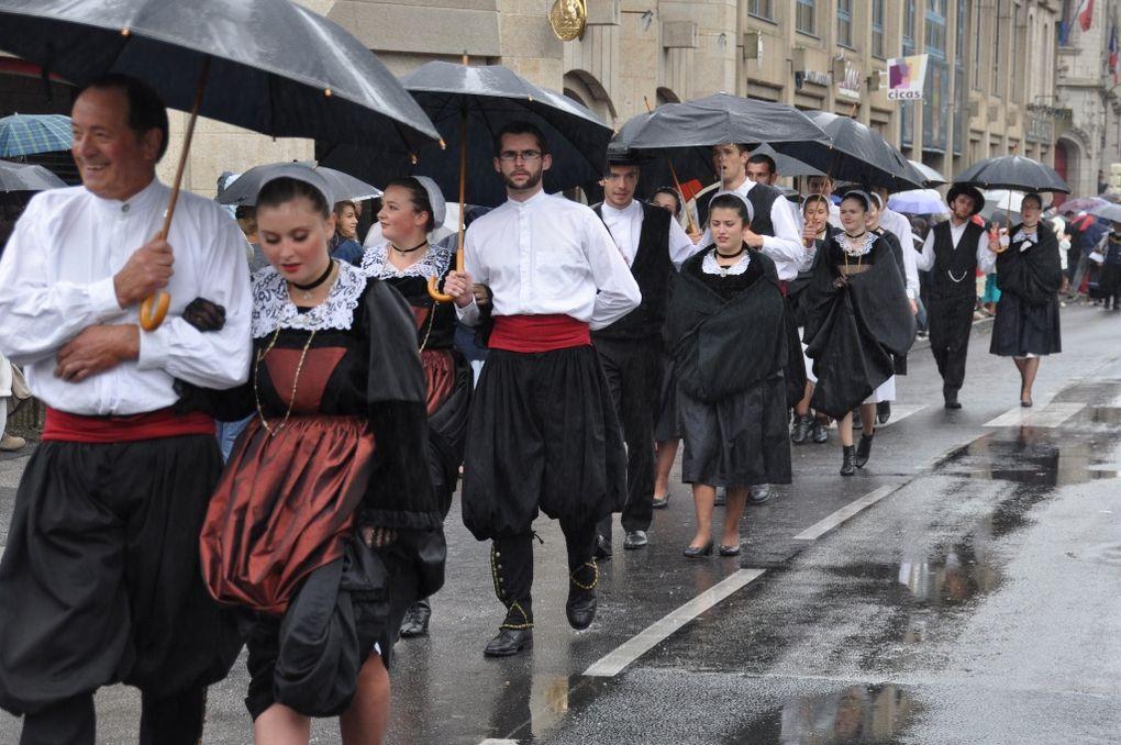 Défilé du Cornouaille 2012 deuxième partie.