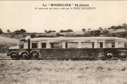 Micheline sur pneus 24 places