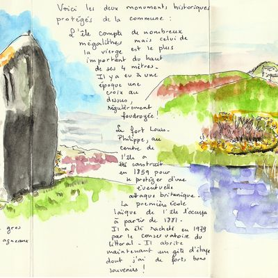 Enez Edig... île d'Hoëdic 7 (monuments classés)