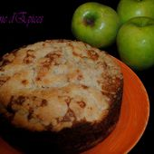 Apple Crumble Cake - Graine d'Epices