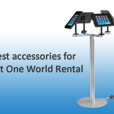 Rental fee the very best accessories for your iPad at one globe service