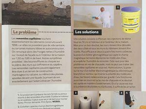 Le magazine MAISON ET TRAVAUX parle de nous et de nos différentes solutions pour traiter l'humidité dans les logements. Ça a été un véritable plaisir de répondre à leurs questions. Pour en savoir plus https://www.humidistop.fr