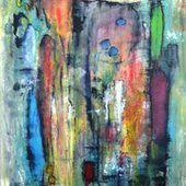 Mowita Erika Jensen Painter Danemark - GALERIE VITRINARTWORLD