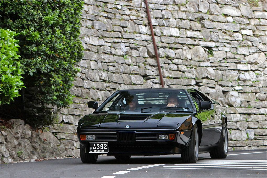 "VOITURES DE LEGENDE (550) : BMW ""M1"" GIUGIARO COUPE - 1980"