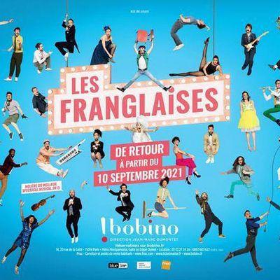 LES FRANGLAISES dès le 10 Septembre 2021 à BOBINO