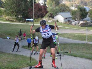 Résultat course ski-roues CSVR.
