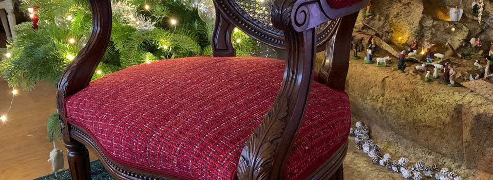 Le fauteuil du père Noël !
