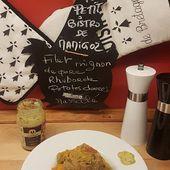 Filet mignon mariné, Rhubarbe, Patates douces et Massalé au Cookeo du Petit Bistro de Mamigoz - Chez Mamigoz