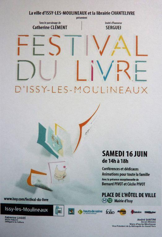 Festival du Livre d'Issy-les-Moulineaux - 16 juin 2018