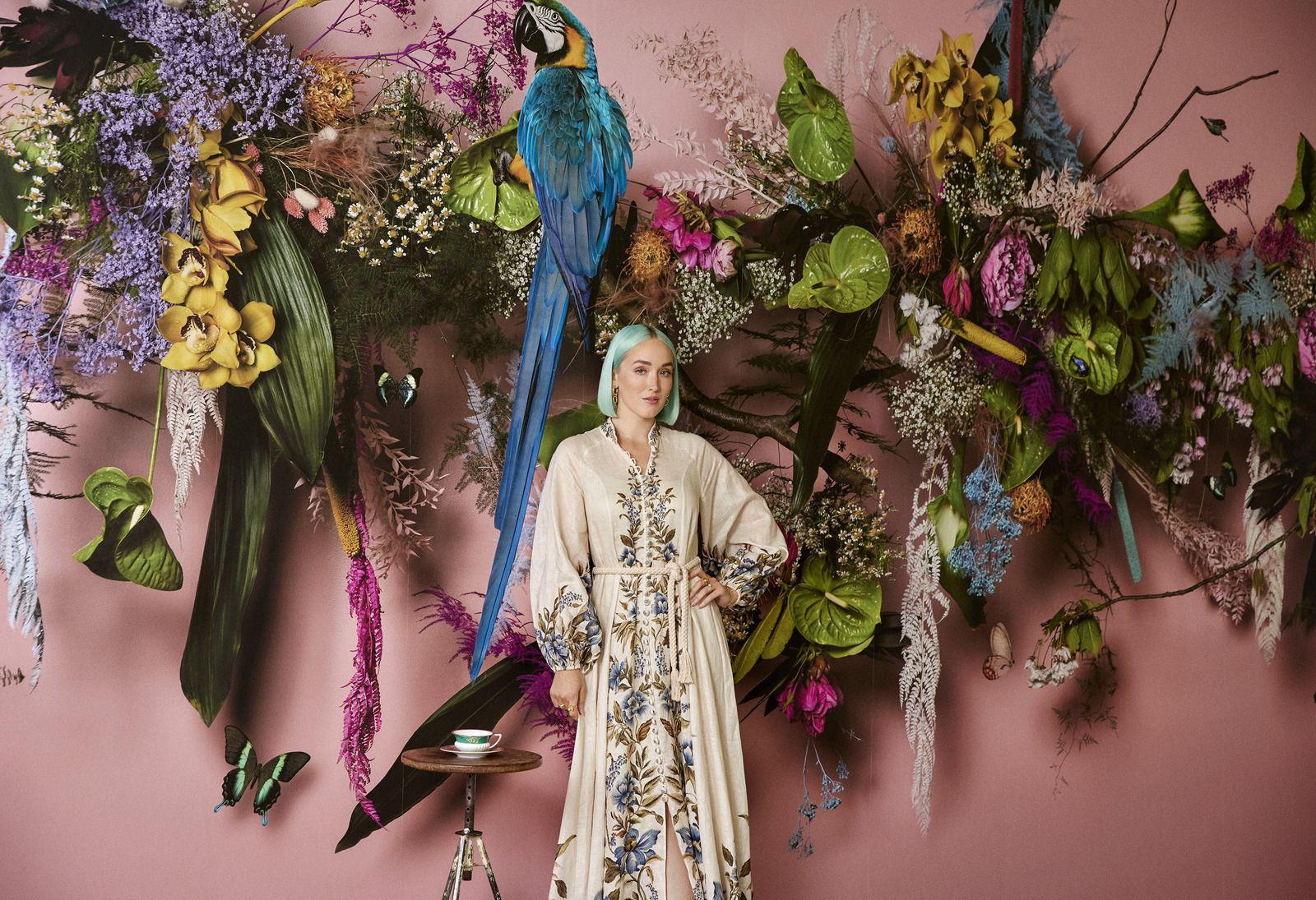Feathr collaborated with iconic British brand Wedgwood