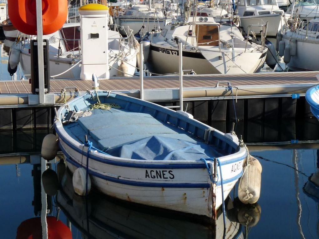 AGNES TL448802 , dans le port de Saint Mandrier