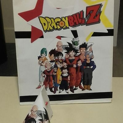 Pochette et berlingot Dragon ball Z