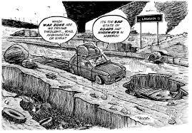 Un cómic que explica la megaciudad africana de Lagos.