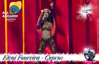 Cyprus - Eleni Foureira - 2nd All Aboard!