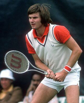 Jimmy Connors et Michael Kures