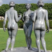 Maillol - Les Trois Nymphes - LANKAART