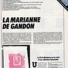 Rétrospective Dossier Marianne de Gandon