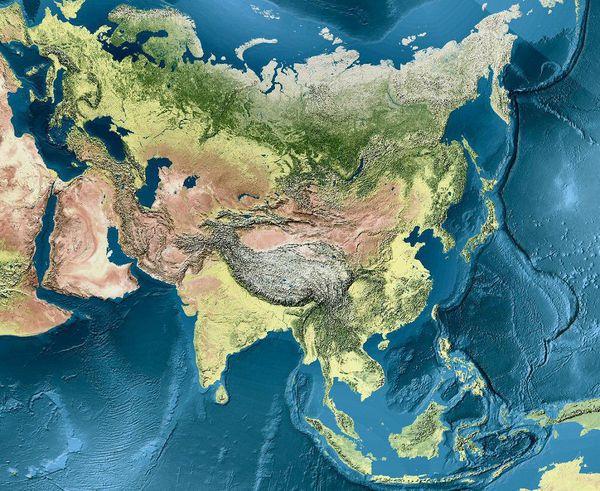 D'Athènes à Pékin, survol de l'Eurasie