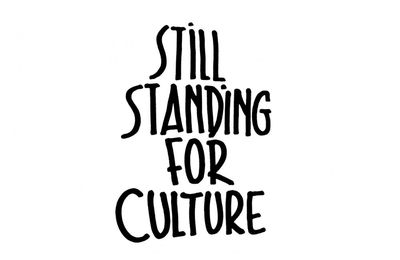 🎵 Still Standing for Culture - Samedi 20/2, on fait culture ! Op zaterdag 20/2 doen we aan cultuur !